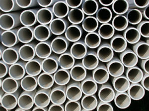 pipes that can be used with sump pump to divert water from yard