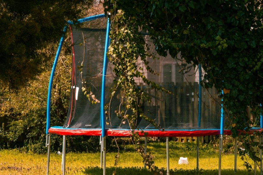 small trampolines