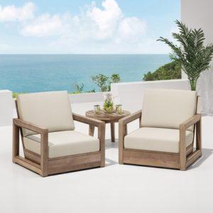 2 chairs for a nice backyard design