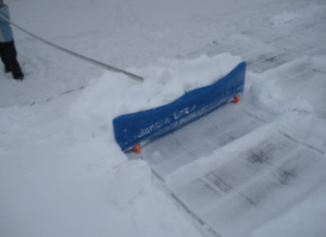 winter roof clearing tool