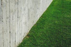 dog fence landscape idea