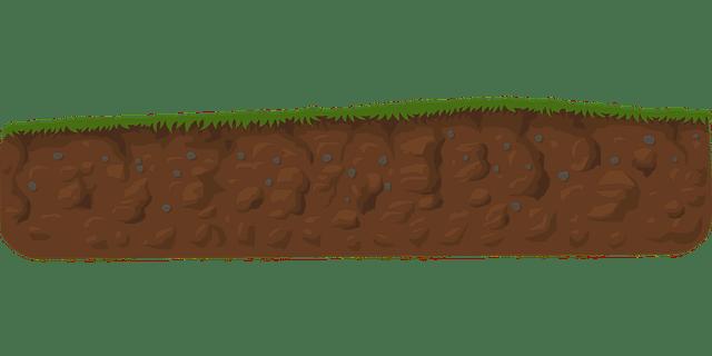 topsoil amount on lawn