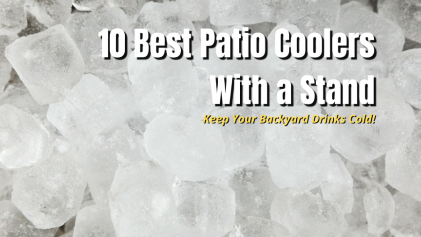 best patio coolers with stands