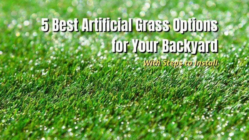best artificial grass for backyard