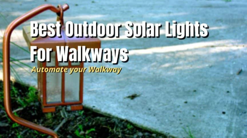 best solar walkways lights