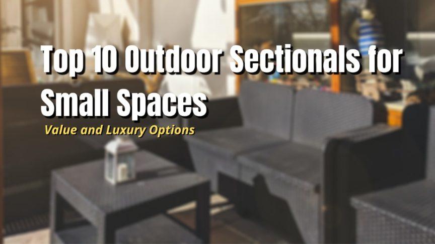 best outdoor sectional