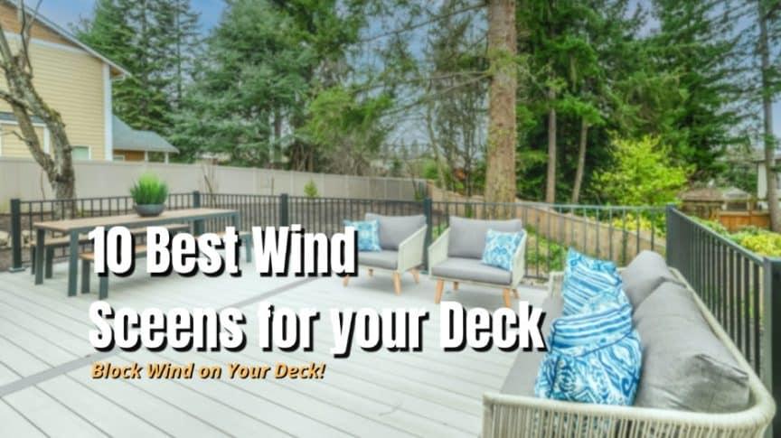 best wind screens