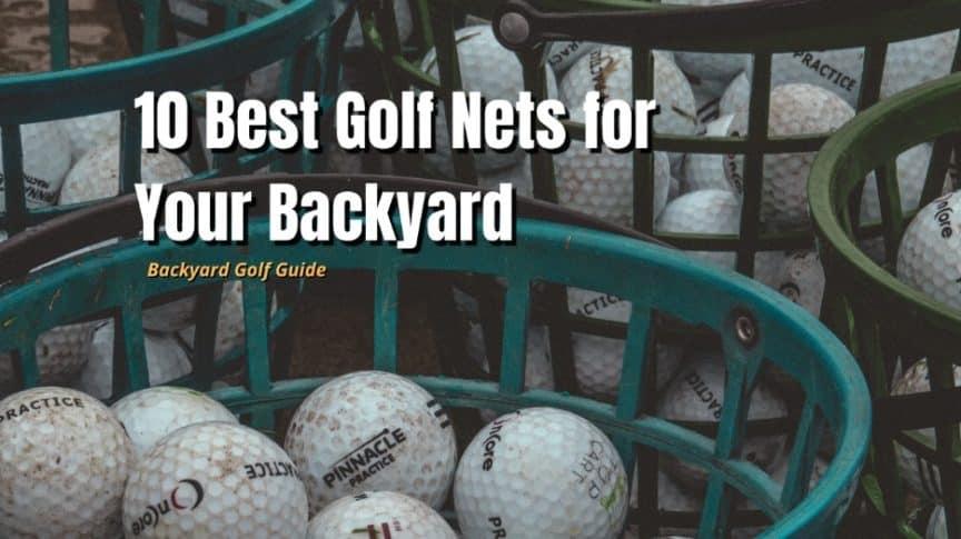 best backyard golf nets