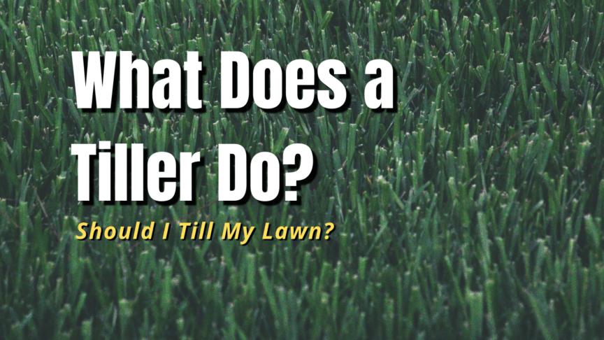 what is a tiller