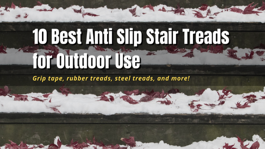 best outdoor stair treads