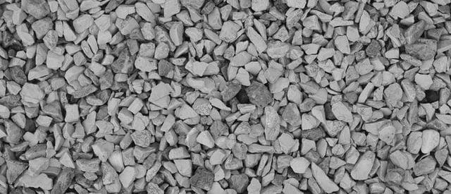 gravel trench