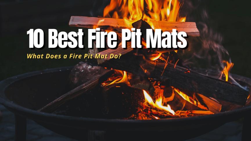 best fire pit mats