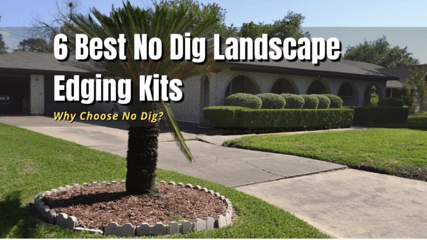 best no dig landscape edging kits